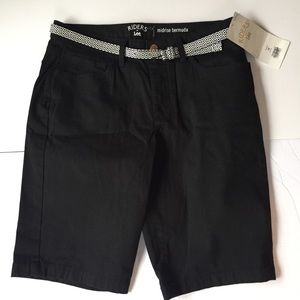 Riders by Lee mid rise Bermuda shorts size 10 NWT